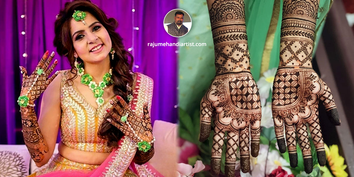 Best Bridal Mehandi Artist in Delhi